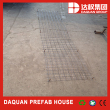 reforced foam concrete panel with steel mesh inside/steel mesh size can be customized