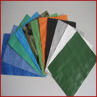 Used as the tarpaulin of duffel bag