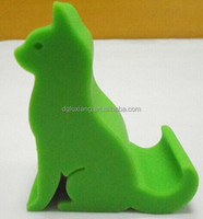 China supplier directly production cartoon modelling silicone mobile phone holder