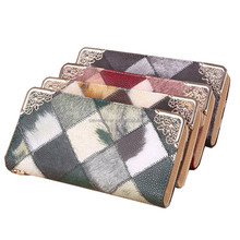 2015 New arrival PU leather multicolor magic lady wallet