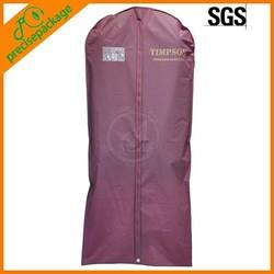 Indoor use Dustproof PEVA plastic storage bags for suit