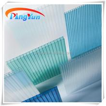 Polycarbonate feuille de couverture transparente, Effacer tôle de toiture en polycarbonate, Transparengt feuille de pc pour toiture