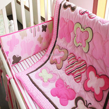 patchwork baby girl comforter with New European Style--Embroidery and Applique