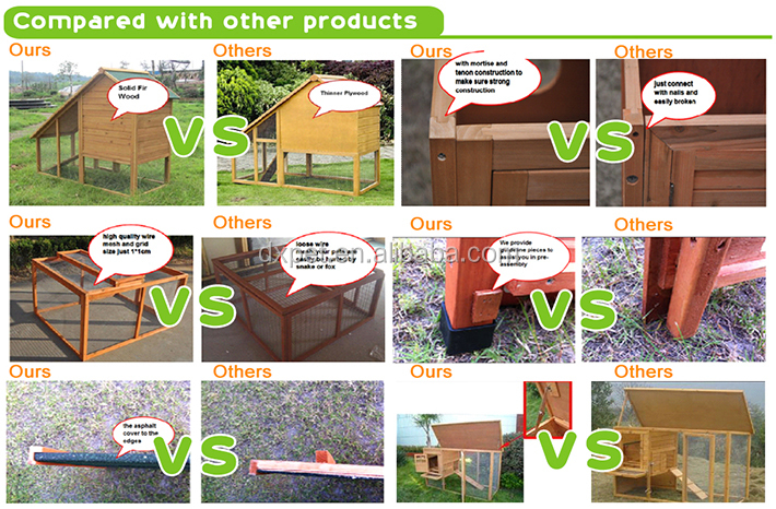 Cheap Wooden Dog Houses (BV SGS TUV FSC)