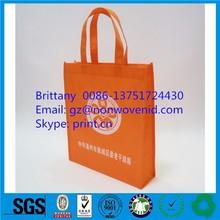 Non woven shopping bag with long handle, Long thin bag