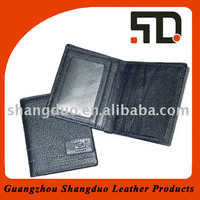 Chinese Factory New Promotion Genuine Leather Wallet Case