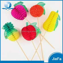 Wholesale Party And Hot Sales Fruit Picks Decorations