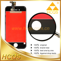 Hot sale High quality original LCD screen + touch screen digitizer + glass assembly for iphone 4s replacement lcd