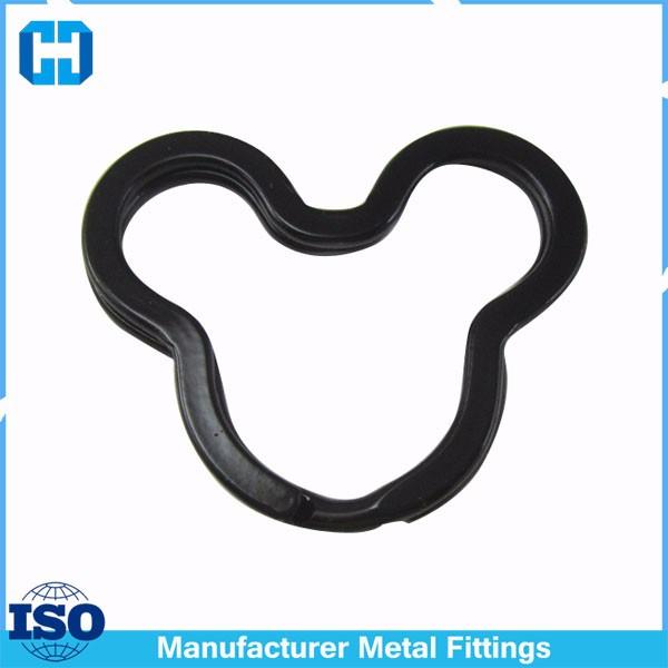black mickey split key ring