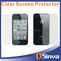 3 layer HD clear 6H hardness PET screen protector Manufacturer