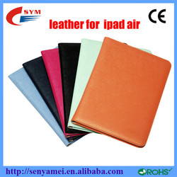 high quality protector case for apple ipad air,ultrathin upscale leather case for ipad5/6