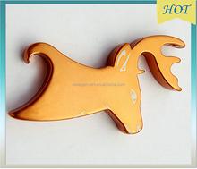 hot sales promotional kirsite animal modeling bottle opener,key chain bottle opener,