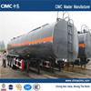 Tri-axle bitumen tank semi-trailer,heating bitumen liquid tank semi-trailer