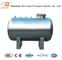 200L industrial stainless steel water tank for storage/pressure vessel