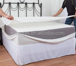 polyester knitted waterproof mattress cover