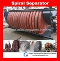 titanio concentrador de espiral separada