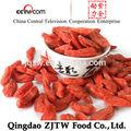 bio de ningxia certificada orgánica bayas de goji bayas secadas del goji frutas