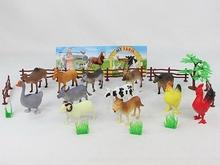 sıcak oyun eğlenceli pp güvenli plastik ormanda hayvan EN71 ile oyuncak