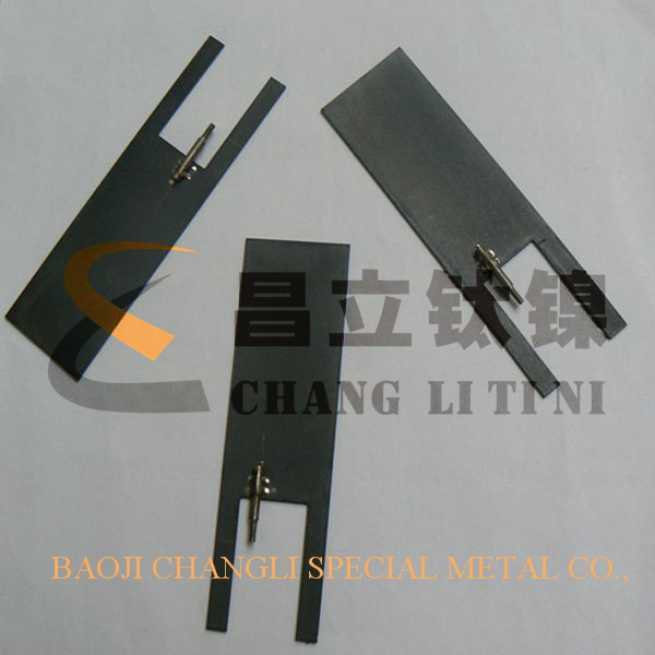 Swimming Pool Anodes : Titanium anode and cathode for swimming pool buy