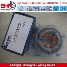 Auto Axle Hub Bearing DAC387436 KOYO Bearing DAC387436/33