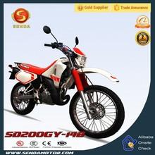 New Enduro Gas 200cc Cross Off Road Dirt Bike For Sale SD200GY-14B