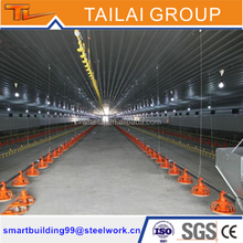 Steel Structure Construction Low Cost Steel Poultry Shed
