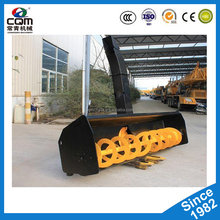 Skid steer loader Electric snow blower,snow removing machine with snow plow