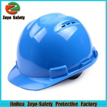 Trade Assurance Over $32000 HDPE Or ABS Material Custom Industrial Construction Safety Helmet