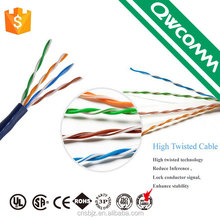 China supplier 4 pair 24awg 305m 1000ft UTP/FTP cat5e network lan cable