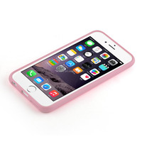 Newest High Quality TPU Bumper Pc Back Phone Case For Iphone 6 6Plus