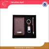 New Design Corporate Card bag Pen Key chain PU Gift Sets for ladies men