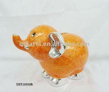 New design ceramic elephant money saving boxes toy