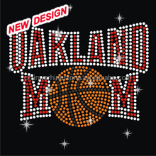 Basketball Girlfriend Rhinestone Custom Design Hotfix Transfers FY 14 (24)