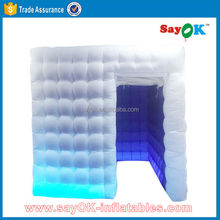 Inflatable used portable photo booth tent for sale/portable spray booth for sale