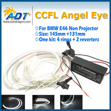 hot! CCFL halo ring headlight DRL for bmw e46 A+B non projector (98-on)