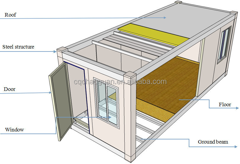 Standard shipping container for sale 20ft 40ft 40ft hq for Isolation container maritime