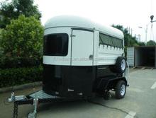 caravan,economic 2 horse straight load trailer