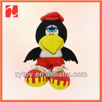 Lovely plush stuffed soft toy birds in china shenzhen OEM