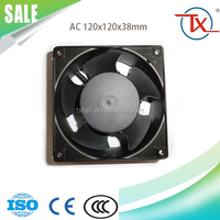 110V/220V/380V 120x120x38mm China Supply Electric cooling fan with NMB Ball Bearing Motor