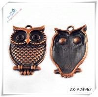 Popular owl pendant animal pendant for man , pendant necklace ZX-A23962