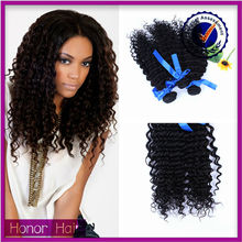 Alibaba professional manufactures natural color wholesale virgin cheap long curly hair weave