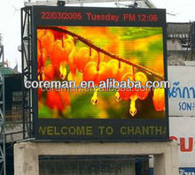 alibaba store p10,p20 roadside ads 8000nit video infrared led board advertising