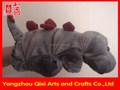 Venda quente crianças brinquedos de pelúcia fantoche de mão de dinossauro