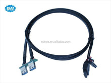Motherboard 20 pin male to dual USB3.0 Female Adapter
