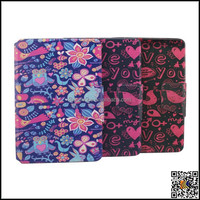Sublimation leather painting case for ipad mini2/3 protective cover