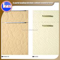 2015 mdf laminate new pvc embossed cabinet door mini kitchen cabinet apartment (zhuv)
