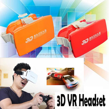 2015 factory price Google cardboard VR glasses Virtual Reality 3d movies and 3d Games Movie