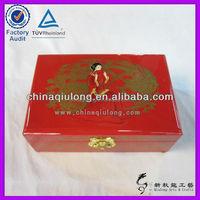 Oriental Wedding Decoration Lacquer Storage Box