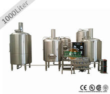 1000l/1500l brewrery equipo
