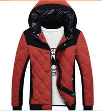 2015 new arrival design cotton padded clothes and high quality men jacket and casual thick warm wholesale winter coat